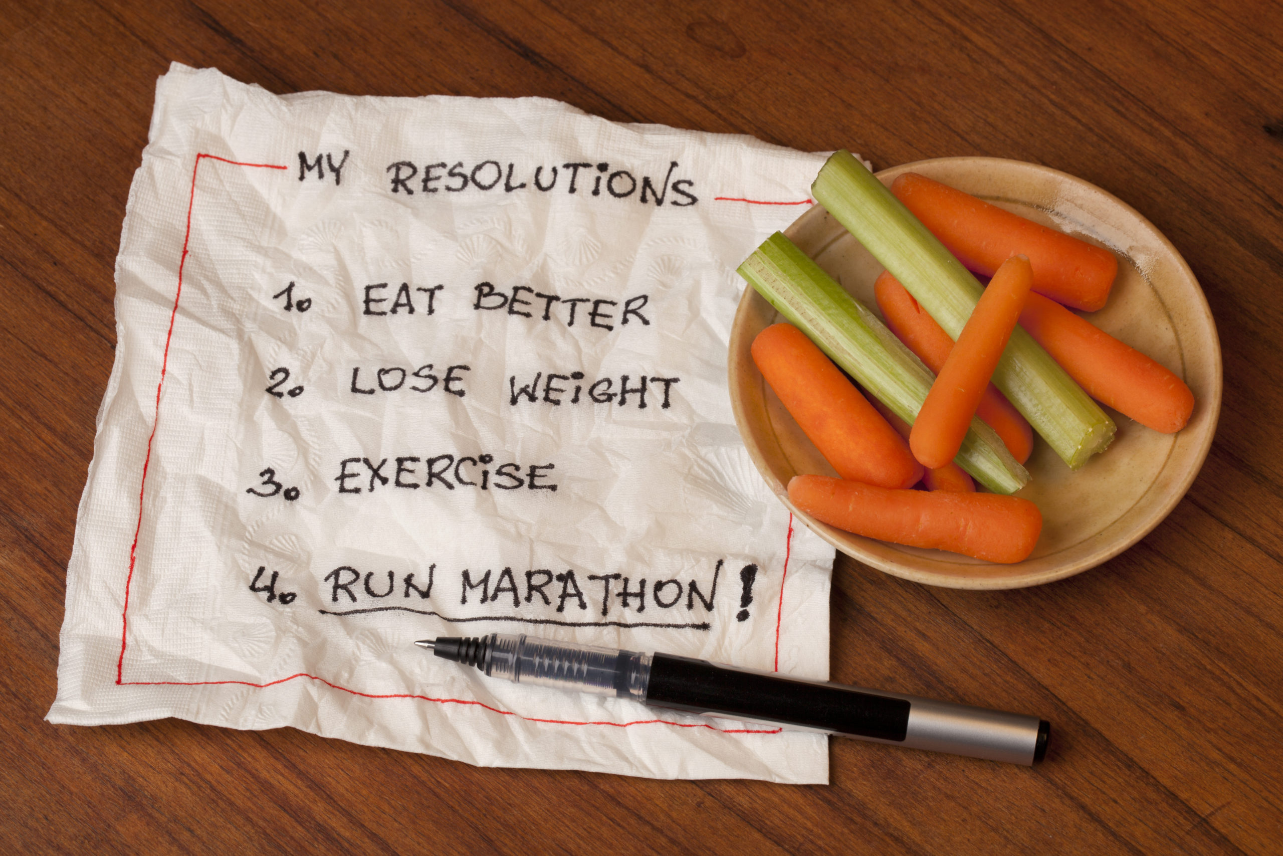 9 Tips to Ensure The Success of Your New Year's Health Resolutions