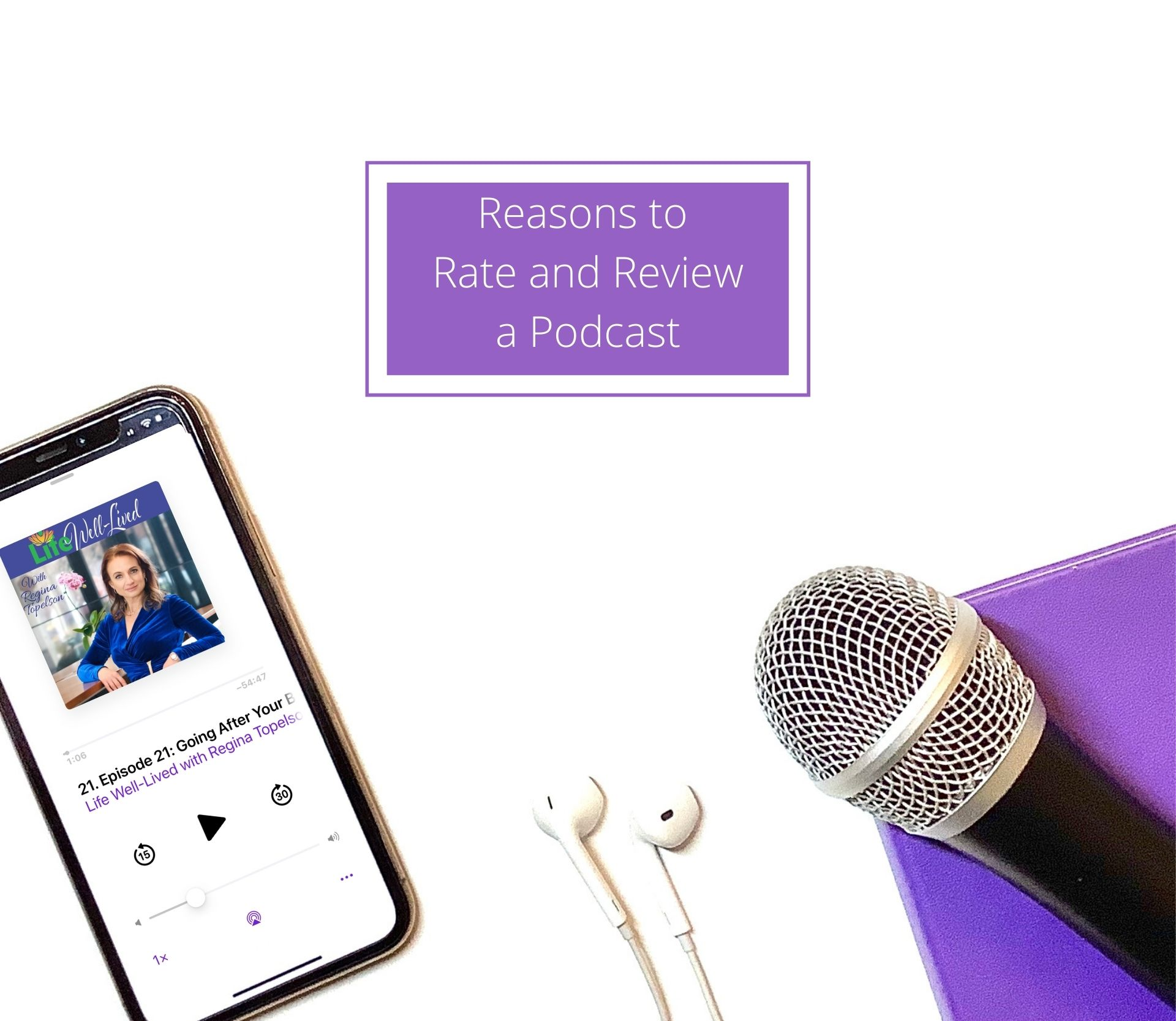 Reasons to Rate and Review a Podcast